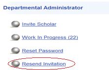 resend invitation