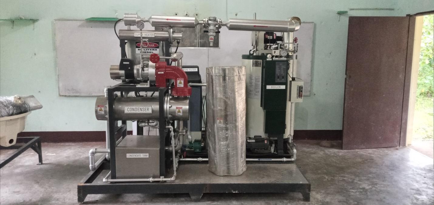 Mini Steam Power Plant