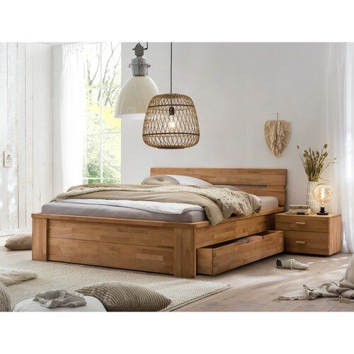 Bedroom with a Storage Bed