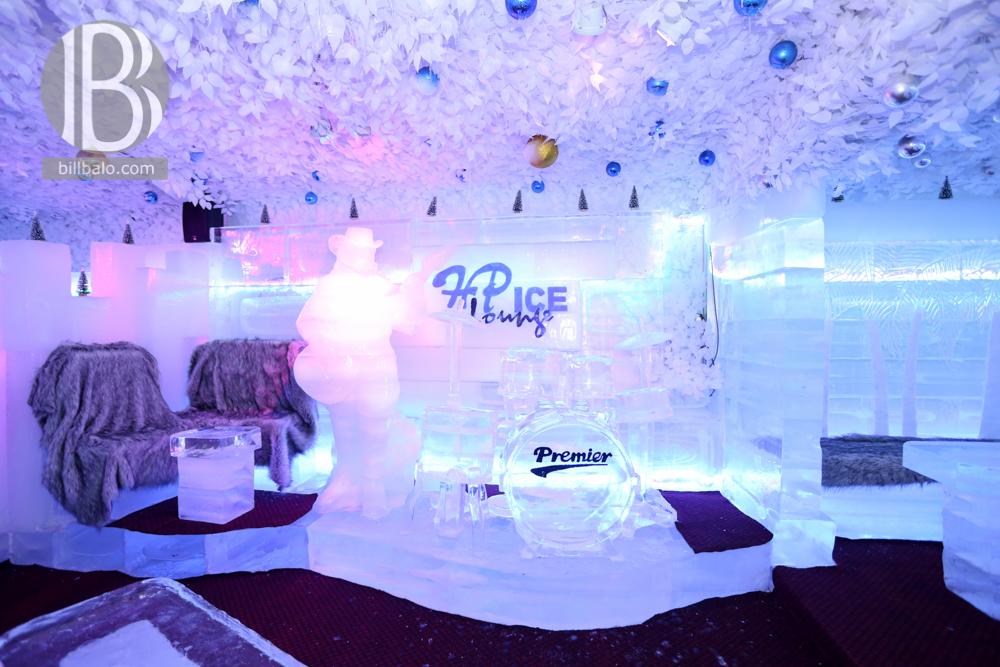 Sơn hiệu ứng Waldo-Không gian quán Ice Lounge