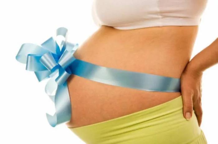 Растущий животик при беременности