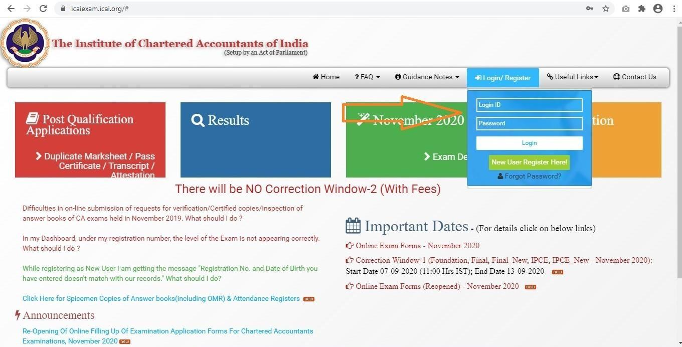 Official Announcement: CA Exam Admit Cards Out | Steps to Download & Other Necessary Updates 3