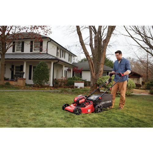 V60* Cordless 21-in. 3-In-1 Lawn Mower Kit (5.0Ah) - CMCMW260P1 ...