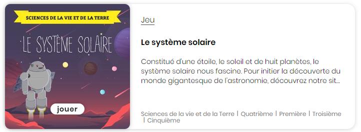 Lumni - système solaire