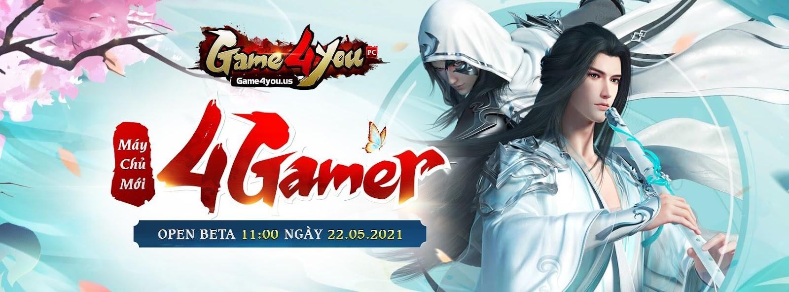 Thiên Long Game4You tung Landing page cho máy chủ mới 4Gamer 1