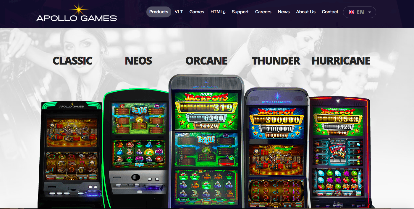 Apollo Games Products