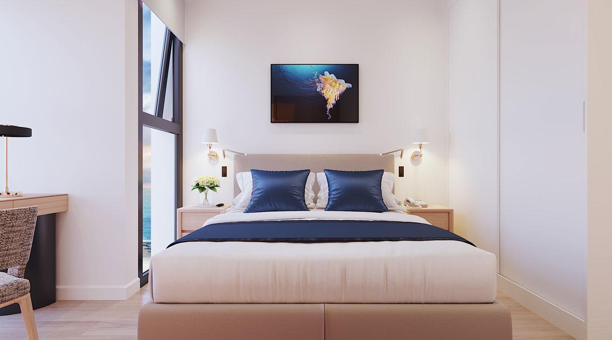 Phòng ngủ nhỏ Căn hộ Sunbay Park Phan Rang