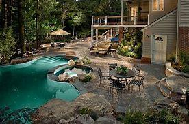 Image result for picture of a beautiful backyard