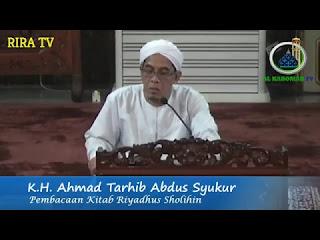 Download KH. Ahmad Tarhib (Guru Tarhib) - 2018-04-14 Malam Minggu - Kitab Riyadhush Shalihin MP3 MP4 3GP