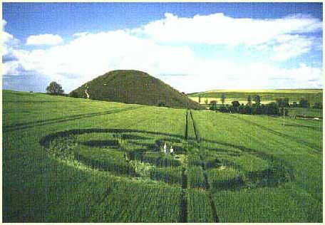 Vòng tròn hoa ở Silbury Hill