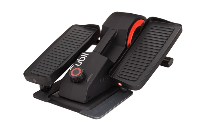 Cubii Pro Seated Under Desk Elliptical is a mini elliptical and an advanced version of Cubii Jr plus compatibility with bluetooth and various fitness apps