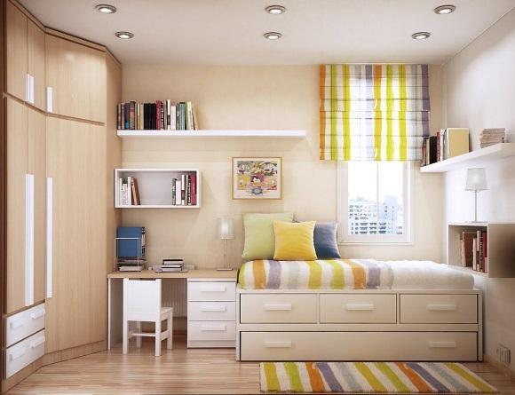 Nội thất phòng ngủ nhỏ đơn giản 3