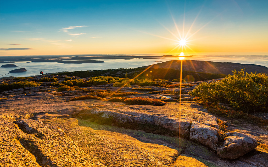 1. Visit Acadia National Park