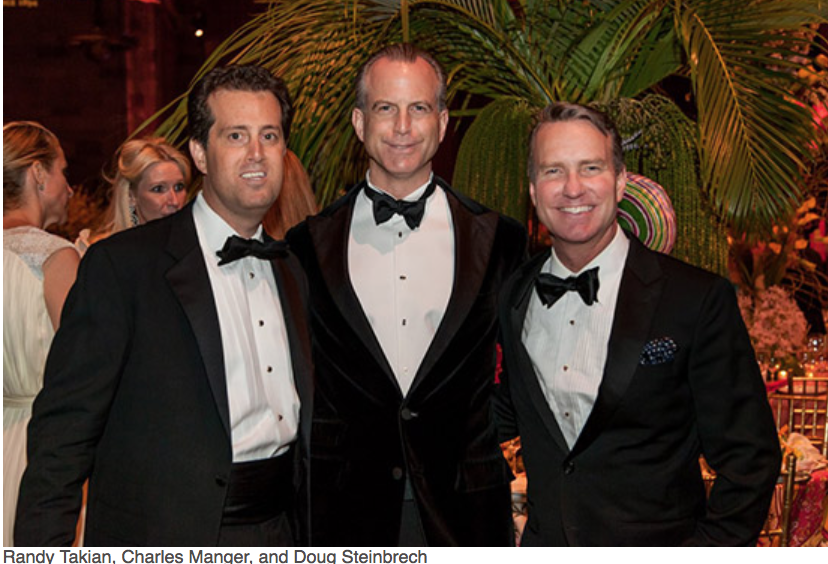 Karen Klopp, Hilary Dick article for New York Social Diary, What to wear to a black tie gala for Lenox Hill Neighborhood Association.   Randy Takian, Charles manger, Doug Steinbrech.