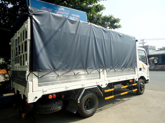 Thùng xe tải Veam vt200 mui bat