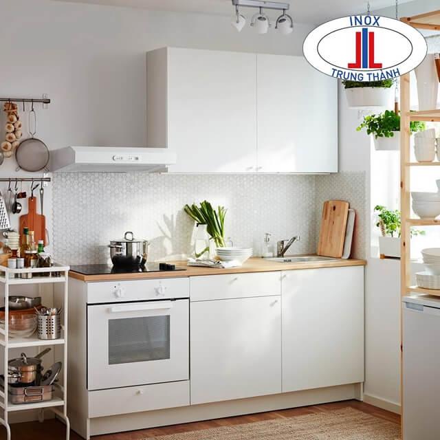 Thiết bị tủ bếp inox hiện đại