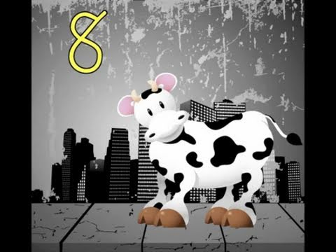 Image result for counting by 8s cow