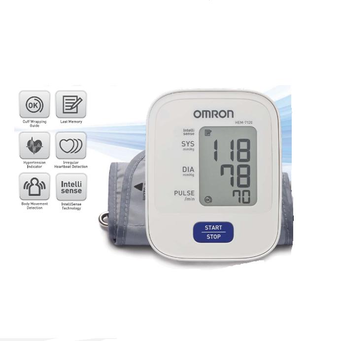 Máy đo huyết áp bắp tay HEM-7120 giá thành 900.000 VND