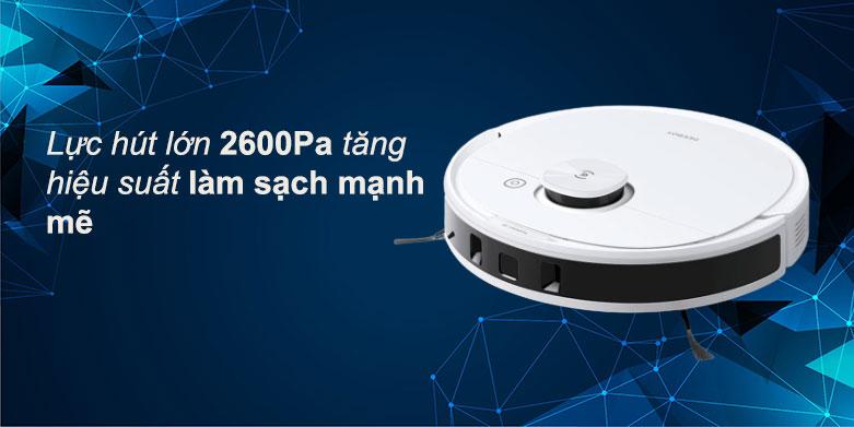 Robot hút bụi lau nhà Ecovacs Deebot N8 Pro | Lực hút 2600Pa