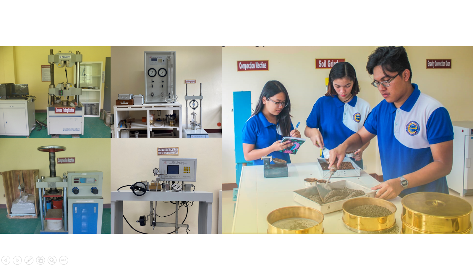 AT GLANCE. Offers Well-Equipped Laboratory Facilities and Equipment