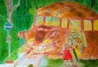 http://www.ebay.com/itm/Original-Oil-painting-on-canvas-gorgeus-old-art-signed-Parfonova-Totoro-Cat-bus-/321269754152?pt=Art_Paintings&hash=item4acd2b6928