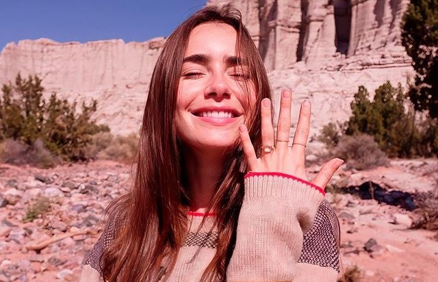 Lily Collins Is Engaged to Director Charlie McDowell