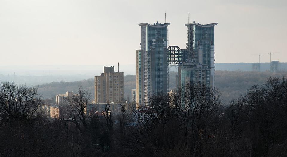 Buildings, Construction, Skyscraper, Architecture