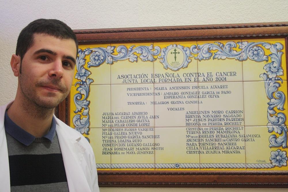 Rafael Cortés Psicooncólogo y Coordinador de voluntariado Aecc Talavera de la Reina