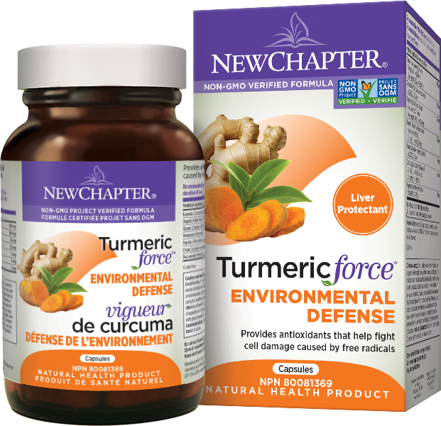 New Chapter Turmeric Force Environmental Defense
