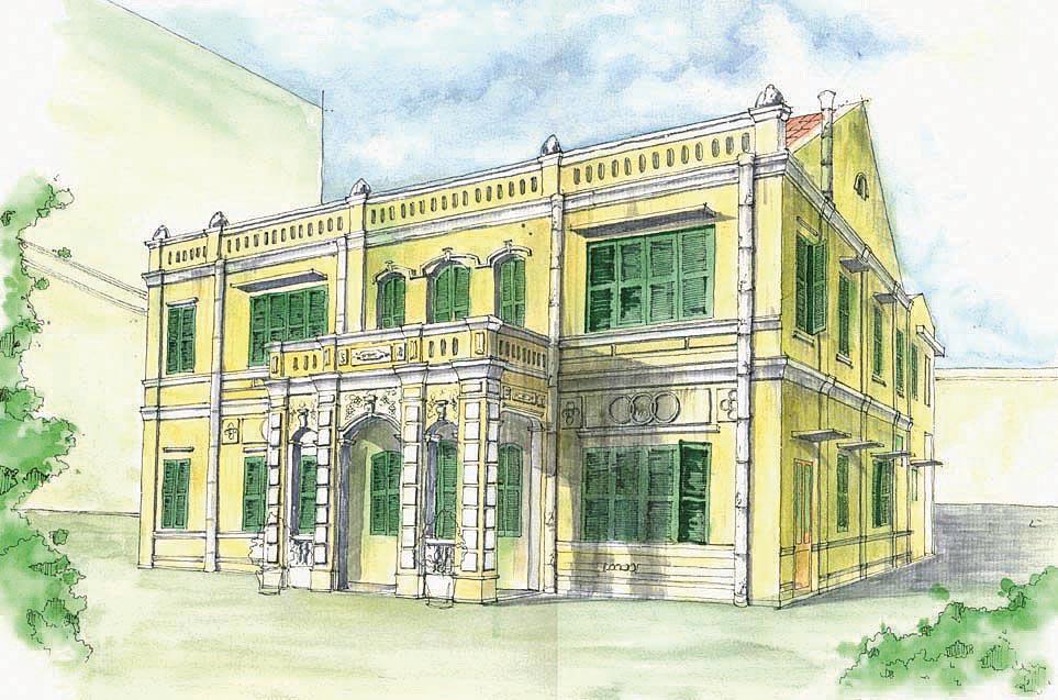 Một mẫu kiến trúc theo phong cách Pháp tại Đà Nẵng