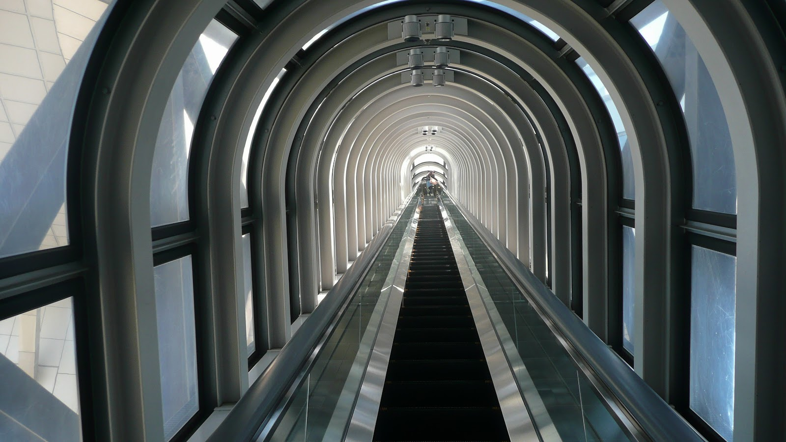 Free Images : architecture, interior, glass, building, tunnel ...