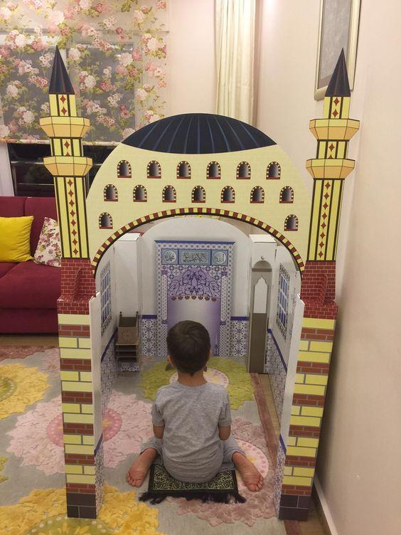 مسجد, رمضان, أنشطة رمضانية, صلاة, أطفال