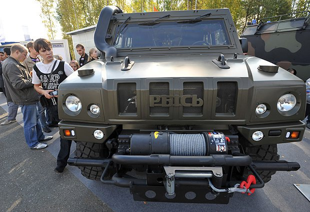 """Бронеавтомобиль """"Рысь"""" или IVECO LVM-M65"""
