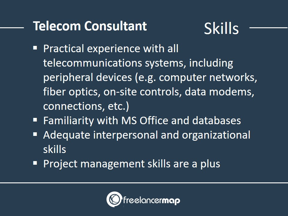 Telecom Consultant Skills Required