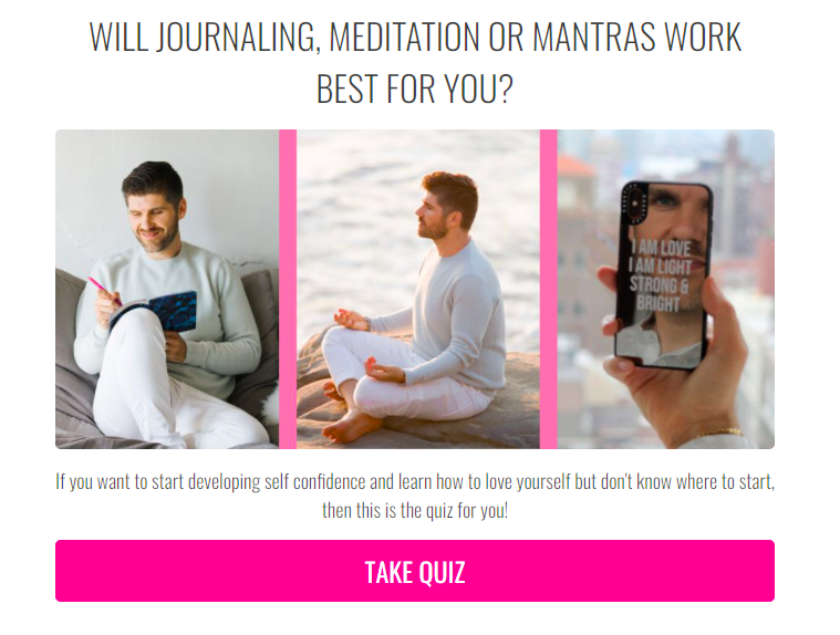 Will journaling, meditation, or mantras work for you quiz cover