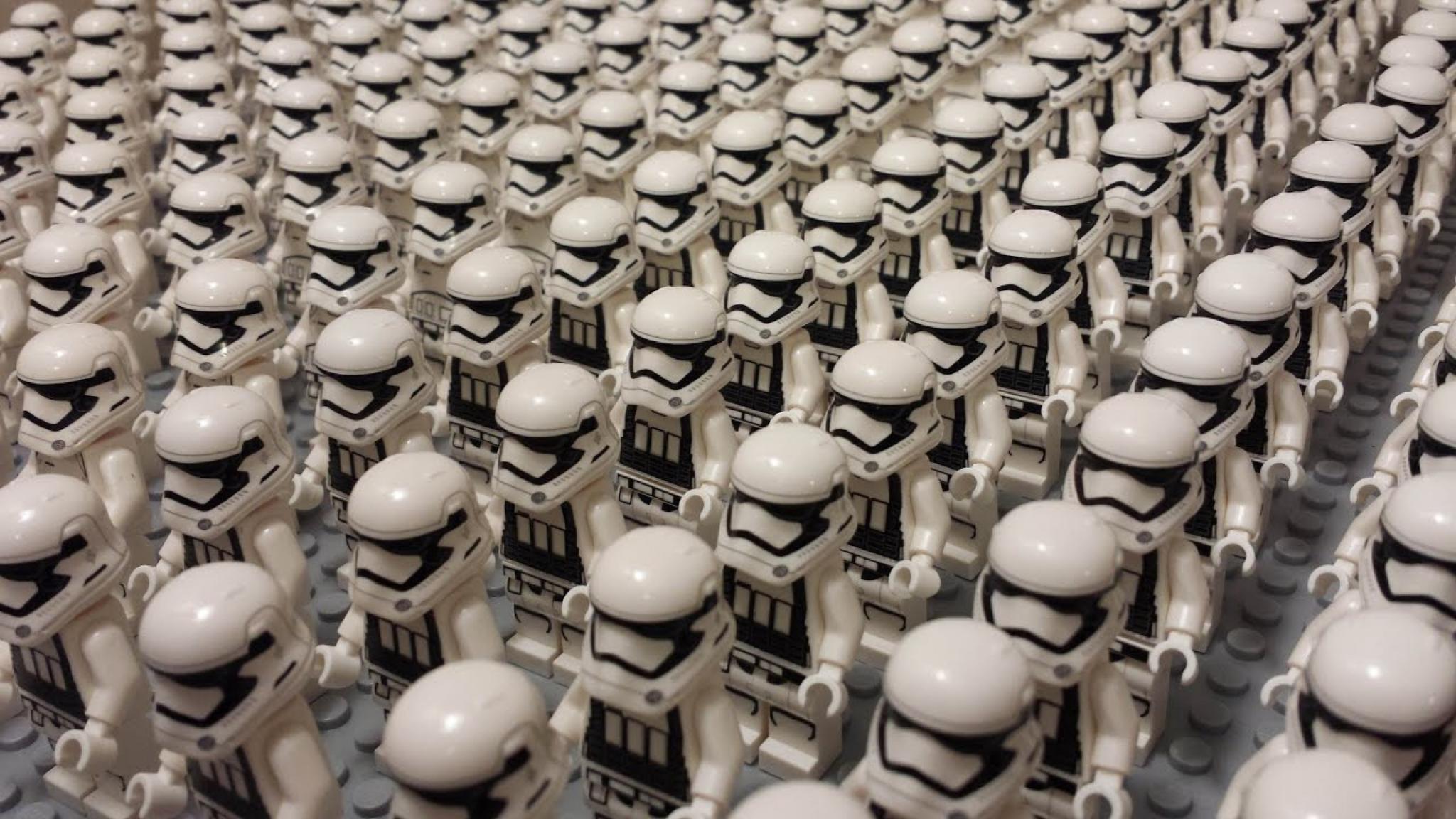 Armée de robots star wars