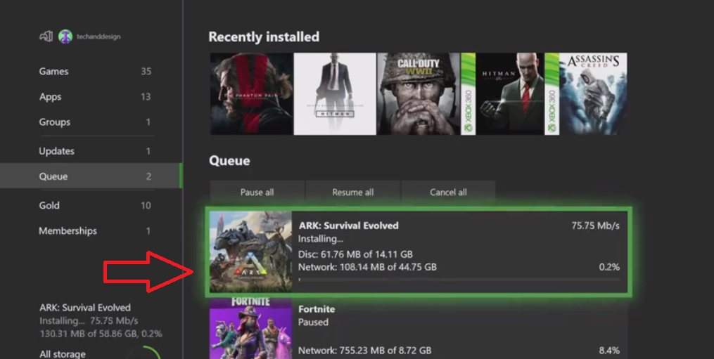 ARK: Survival Evolved on Xbox One - Installation guide