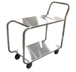 Xe đẩy thực phẩm mẫu 07 được thiết kế linh hoạt di chuyển