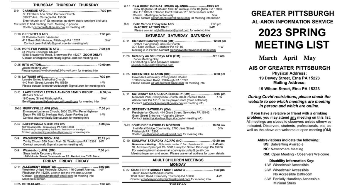 AIS(PIT) Meeting List pdf - Google Drive