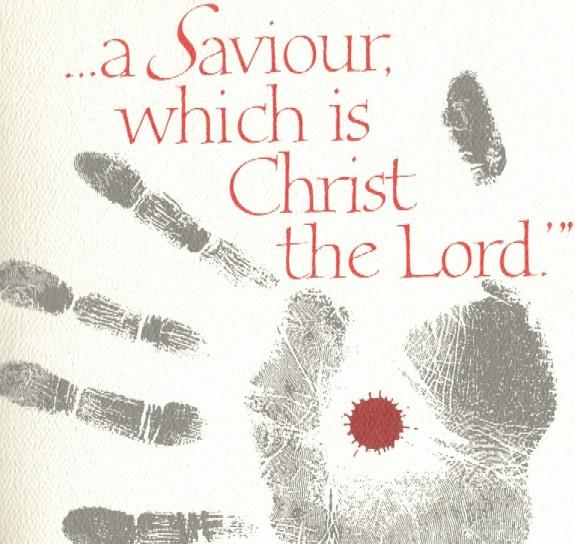 Saviour hand print