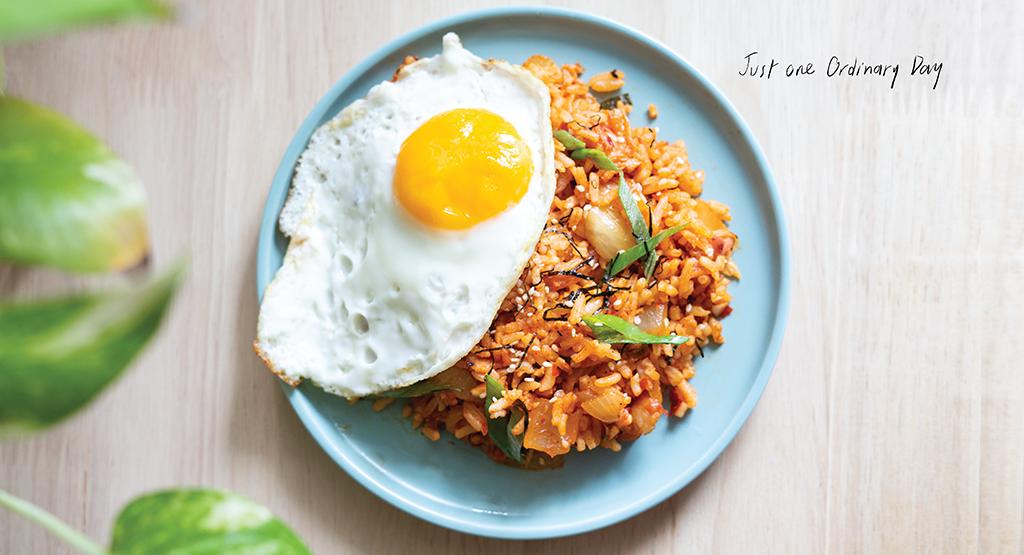 3. ข้าวผัดกิมจิสไตล์เกาหลี