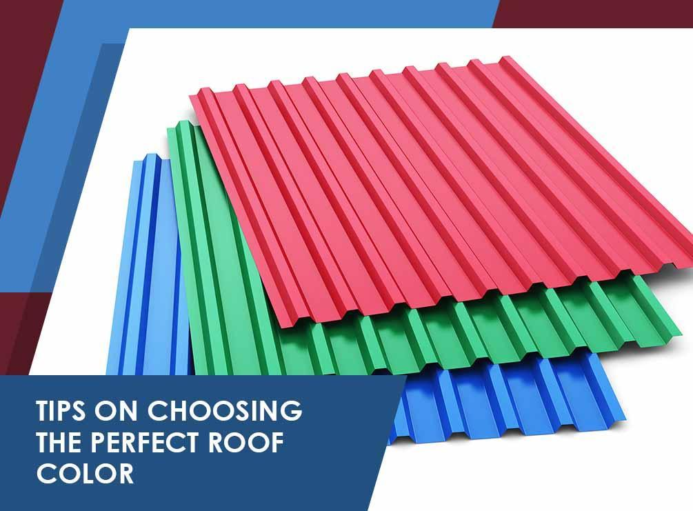 Tips on choosing the perfect roof color for Roofing colors how to choose
