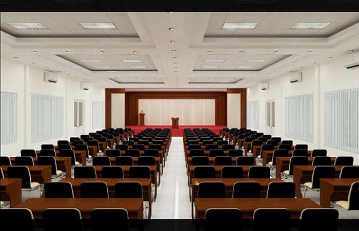 Chọn màu sắc ghế hội trường phù hợp không gian