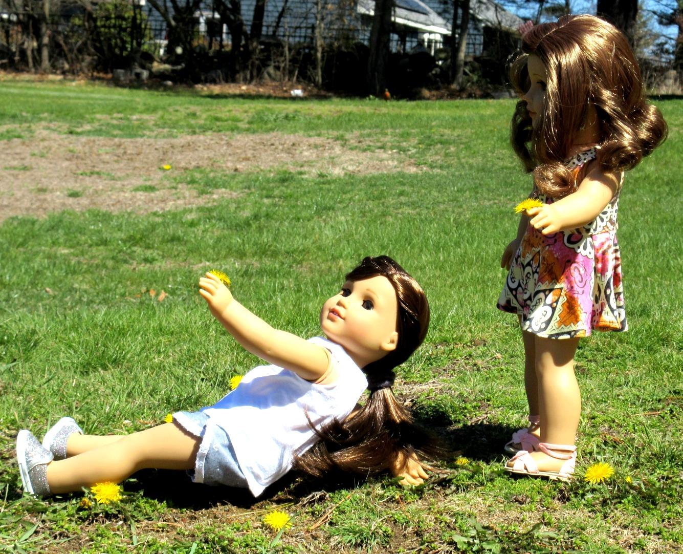 American girl doll summer dandylions .jpg
