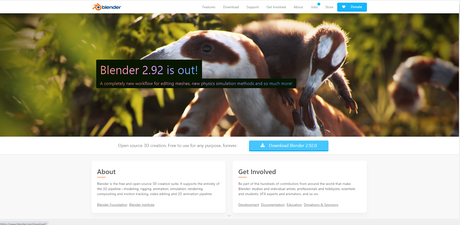 Blender Graphic Design Software
