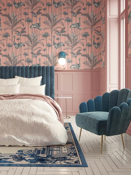 Teal and Pink Color Scheme for Girl Bedroom