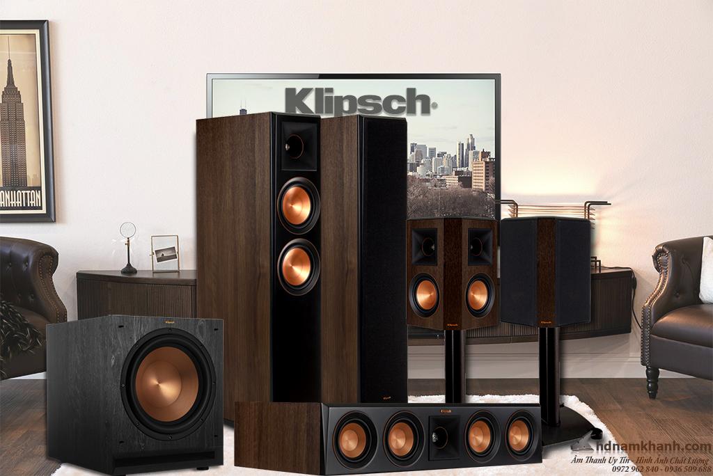 Bộ loa 5.1 Klipsch 5000F, 6000F, 8000F, 820F, 620F giá tốt, lựa chọn tuyệt vời cho phòng giải trí ch - 262954