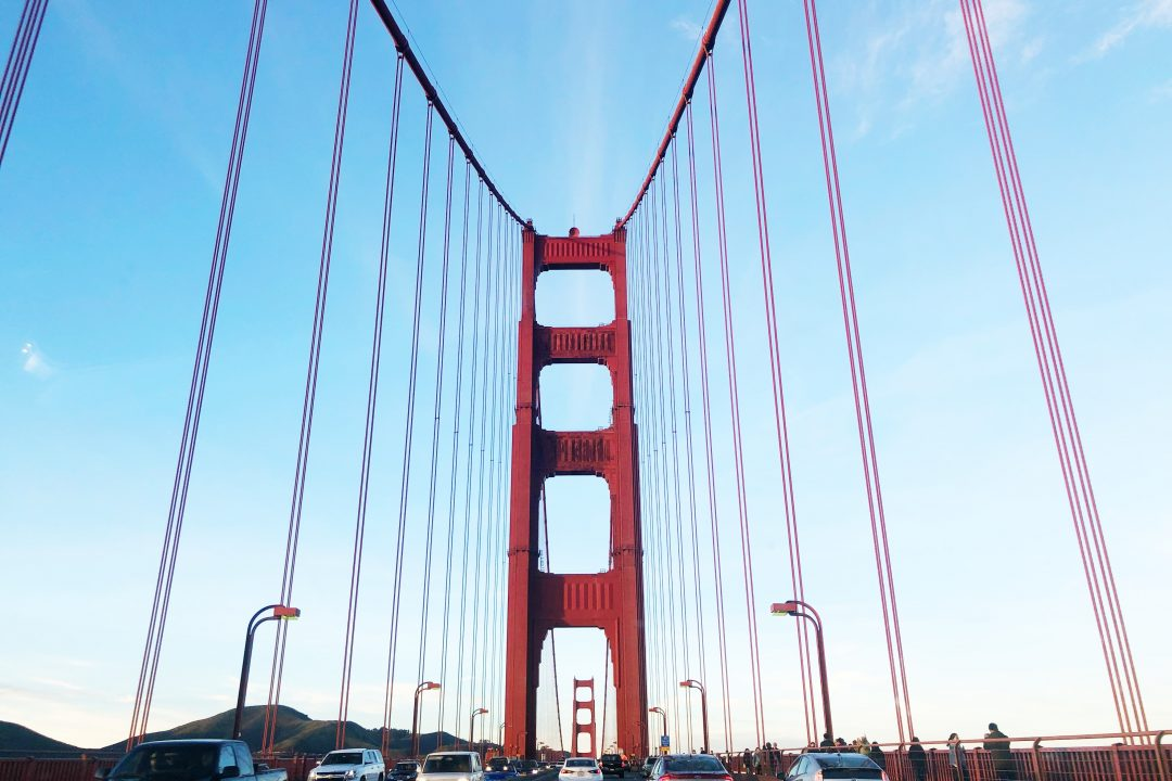 Golden Gate Bridge | California sights - places to visit in Northern California