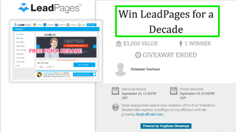 Host Giveaways & Contests to Grow Your Email List