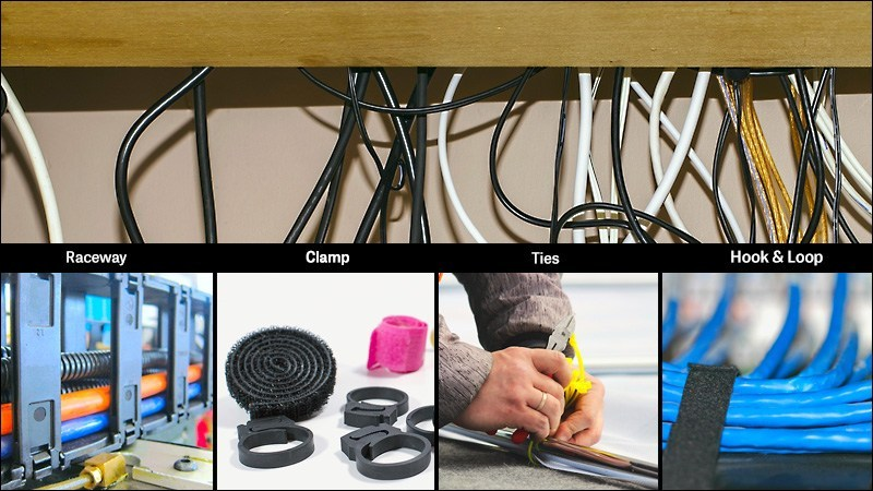 Cheaper Cable Management Solutions